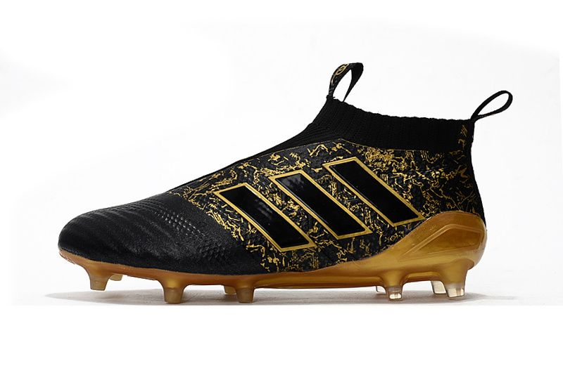6e0ccde12 adidas PP ACE 17+ Purecontrol FG - Mens Boots - Firm Ground - Core Black/Matte  Gold