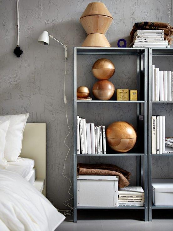 ikea hyllis stellingkast goedkoop slaapkamer | HOME DECOR ...