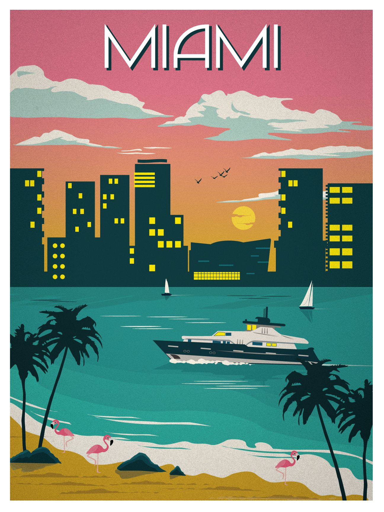 New Miami Poster in the store! http://ideastorm.bigcartel.com ...