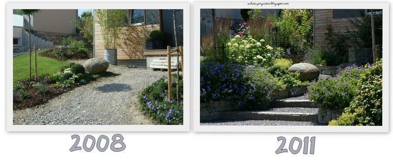 Ein Schweizer Garten Vorher\/Nachher sehr guter BLOG Garten - garten gestalten vorher nachher