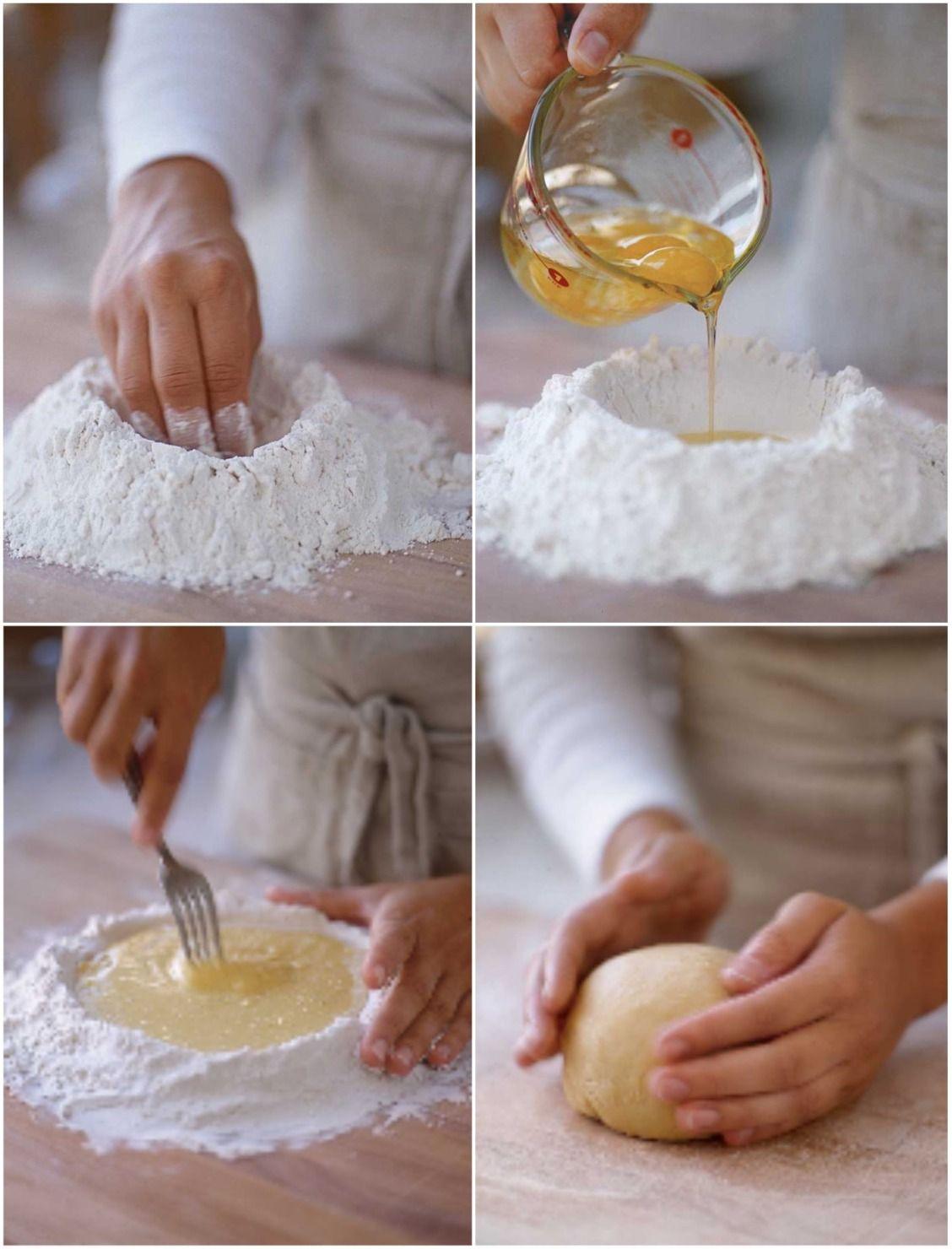 How to make homemade pasta dough by hand