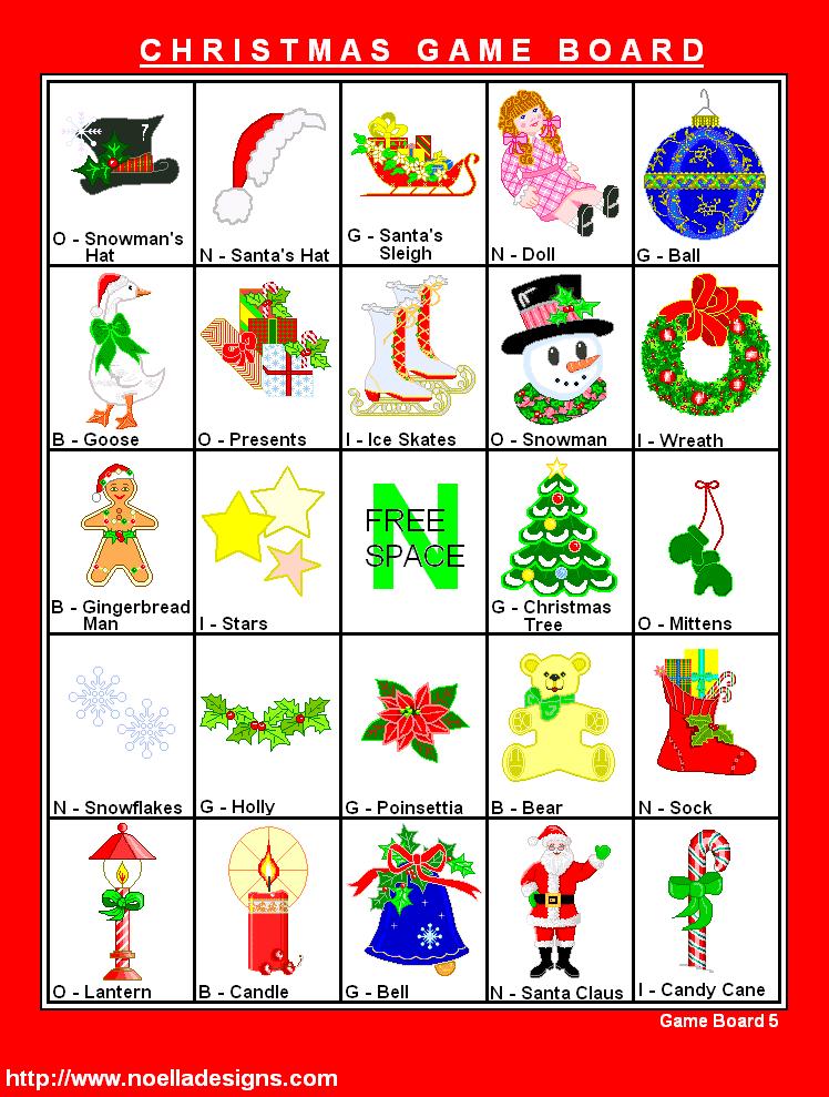 Free Printable Christmas Cards | FREE Printable Christmas Bingo ...