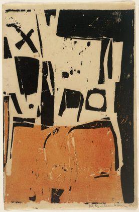 ME GUSTA ESTA PINTURA DE DIEBERCORN. Untitled. 1950