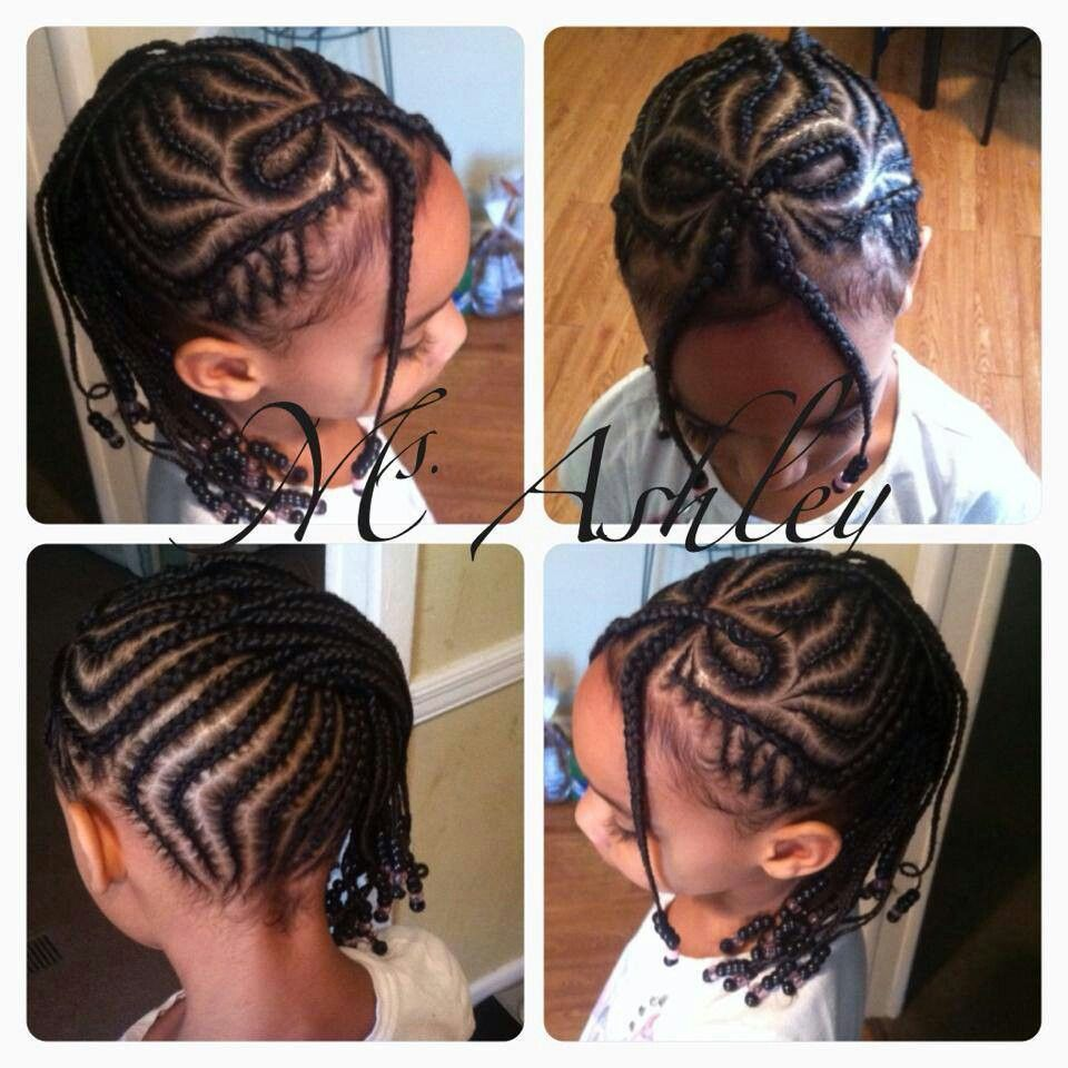 Awesome cornrow design and detail!