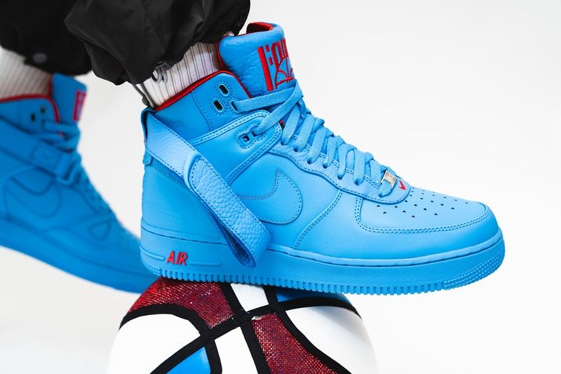 Just Don S Nike Air Force 1 Hi Chicago Melds The Af 1 2 3 In 2020 Nike Air Force Nike Air Nike