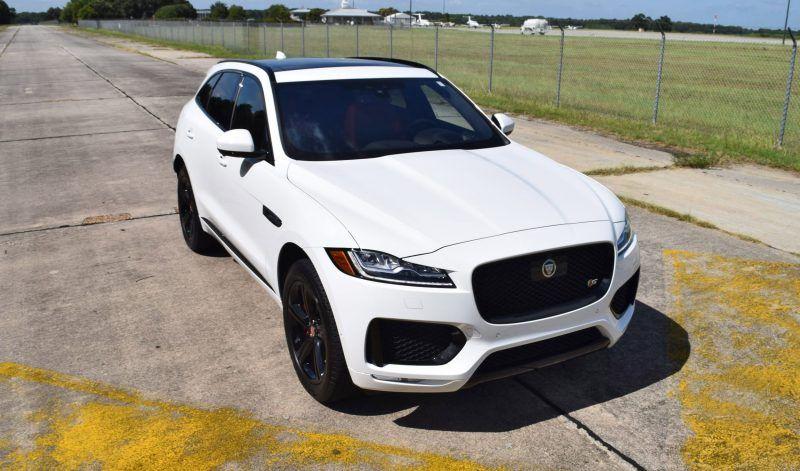 2017 Jaguar F Pace S Usa First Drive Review Video And 140 All