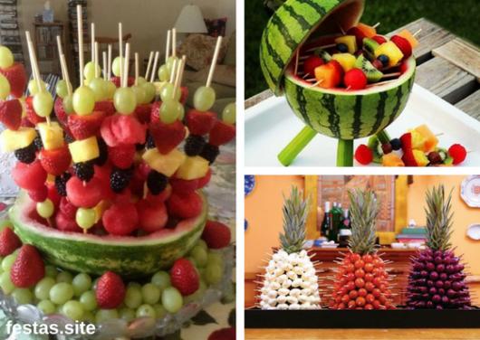 arranjos de frutas como decoraç u00e3o de ano novo simples e barata bia em 2019 Decoraç u00e3o ano  # Como Decorar Frutas Para Ano Novo