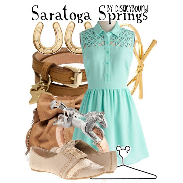 Resorts: Saratoga Springs DisneyBound