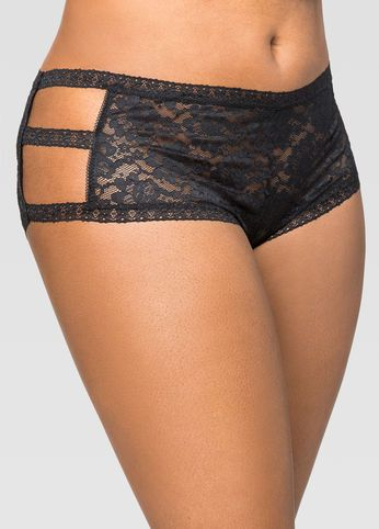 90cabccef Lace Side Cut-Out Boyleg Panty Lace Side Cut-Out Boyleg Panty