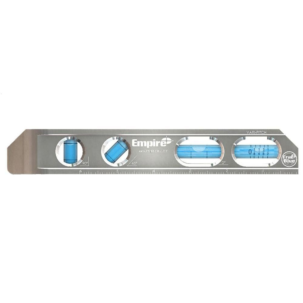 Empire 8 In True Blue Magnetic Billet Torpedo Level Em71 8 Home