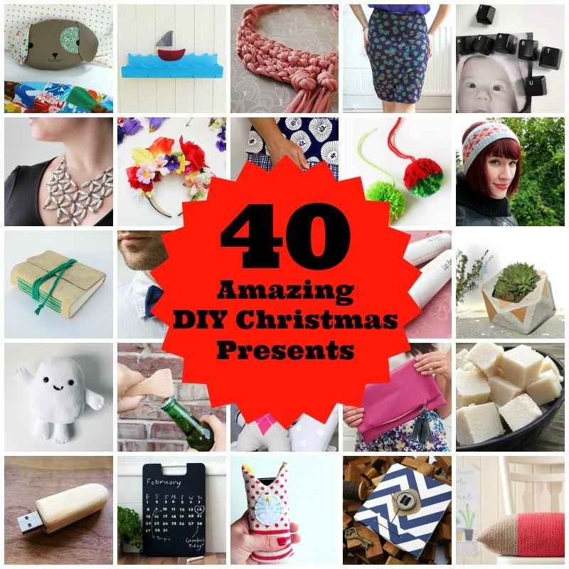 40 Amazing Diy Christmas Presents Christmas Crafts For Gifts Diy Christmas Presents Christmas Diy