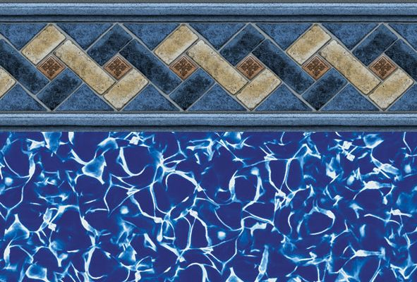 Ventura tile liner above ground pool liners pinterest for Pool design ventura