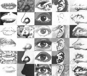 Paul Giovanopoulos-Five Senses. Drawing Project idea (Good way to introduce the features of the face as studies of the senses)