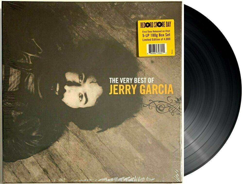 Jerry Garcia The Very Best Of Record Store Day 5 Lp Vinyl Record Box Set Ebay In 2020 Vinyl Records Vinyl Record Box Record Store