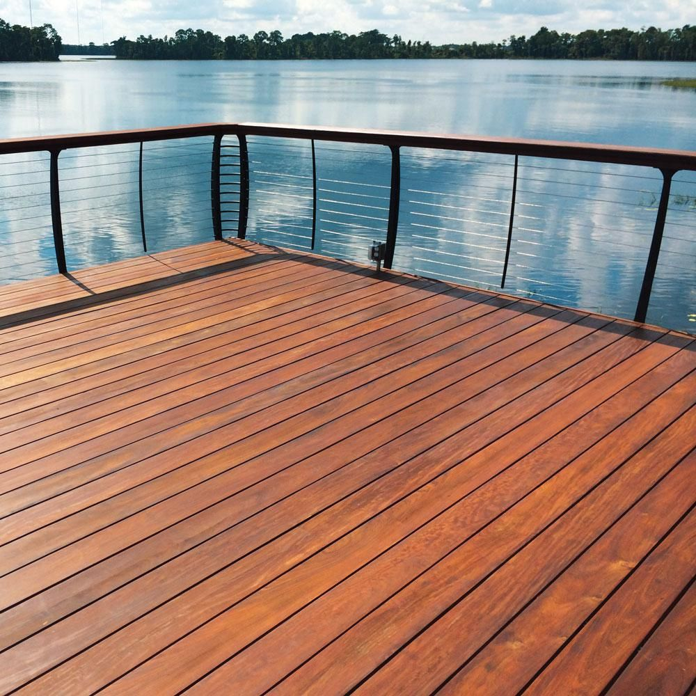 Deckwise Ipe Oil 250 Voc Hardwood Finish 1 Gal Natural Wood Semi Transparent Exterior Waterproofing Deck Fence And Siding Stain Ipeoil Hw Fin 1gal The Home Exterior Wood Stain Wood Pool Deck Exterior