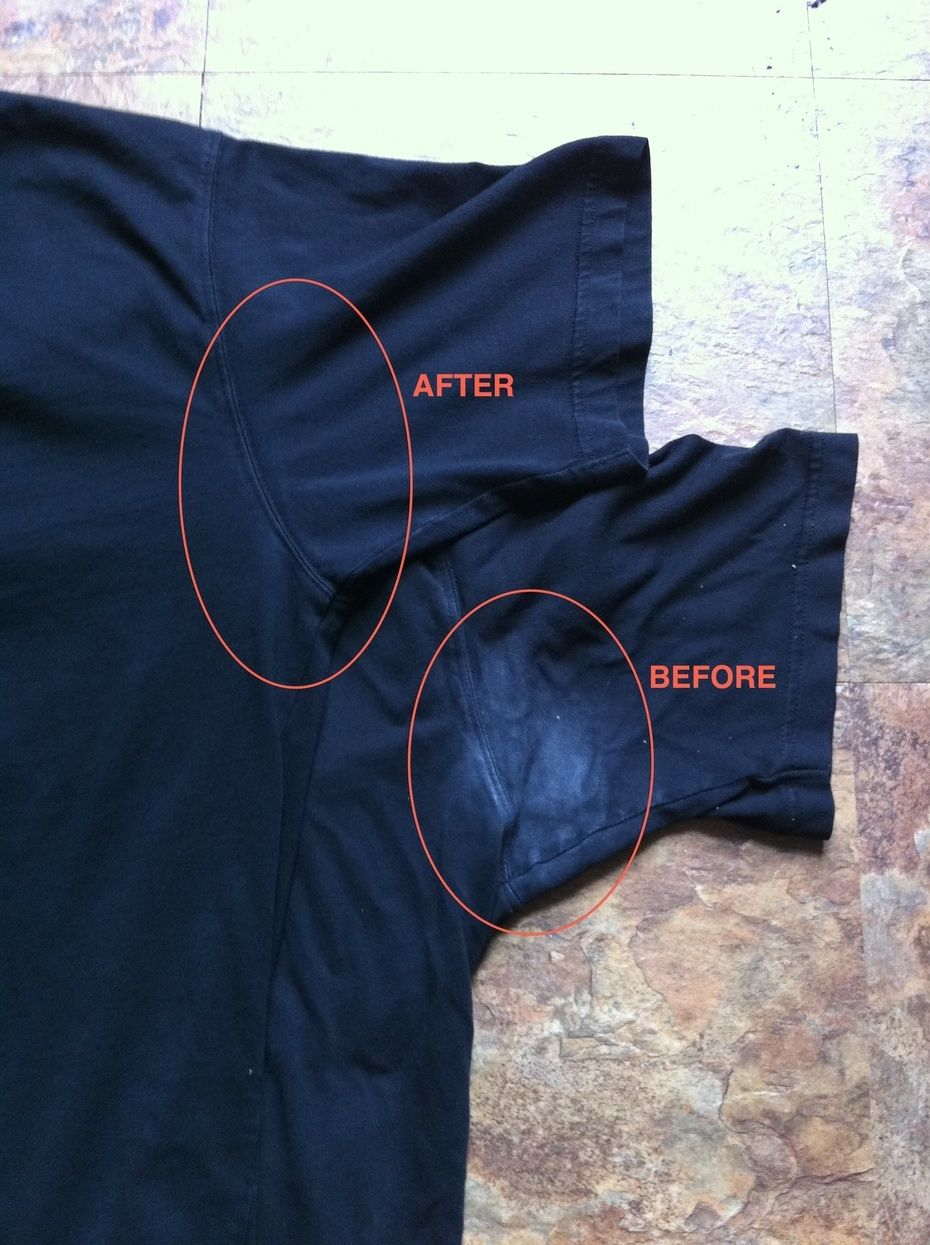 How To Get Rid Of Perspiration Stains On Clothes