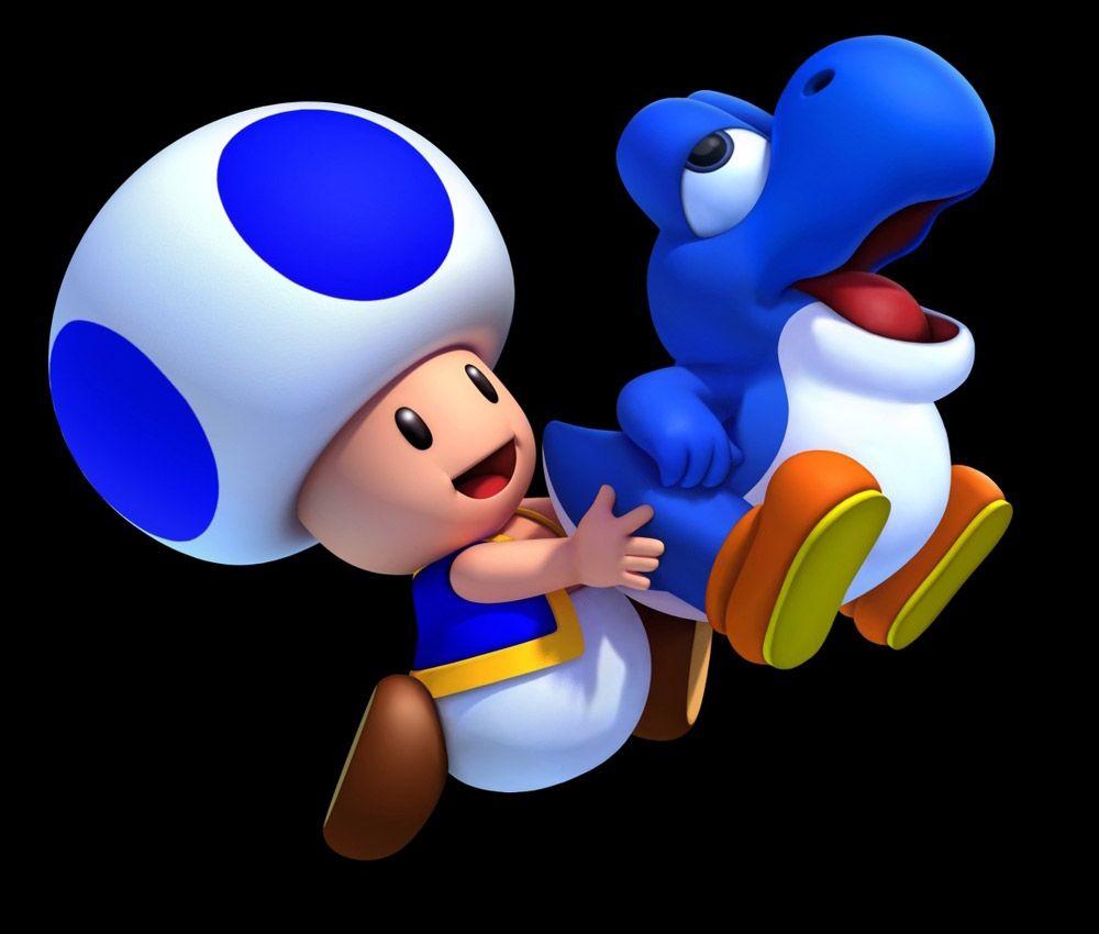Blue Toad Baby Yoshi Makes The Morning Time Epic Mario Bros