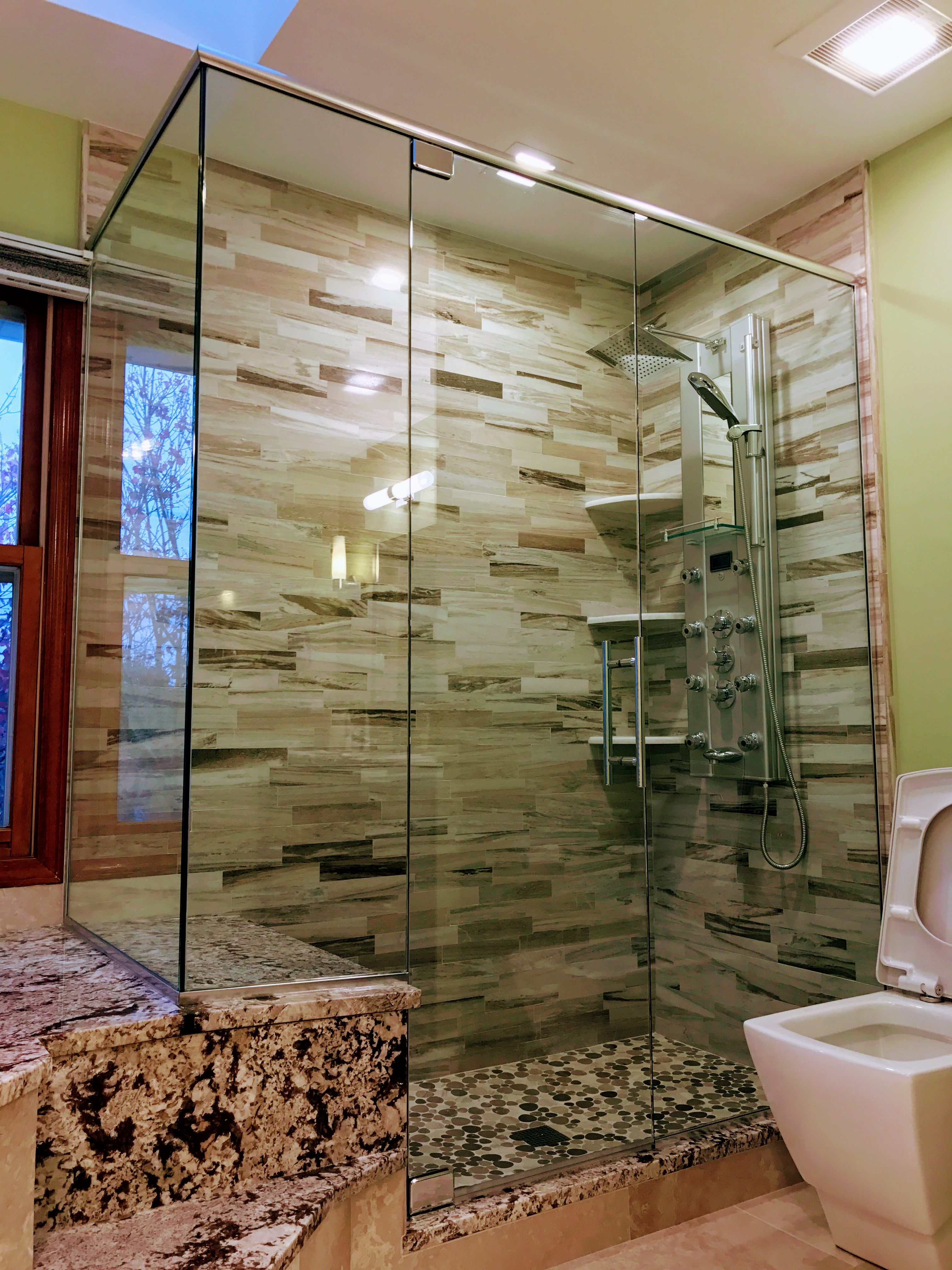 Beautiful Glass Shower Design Custom Glass Shower Enclosures By