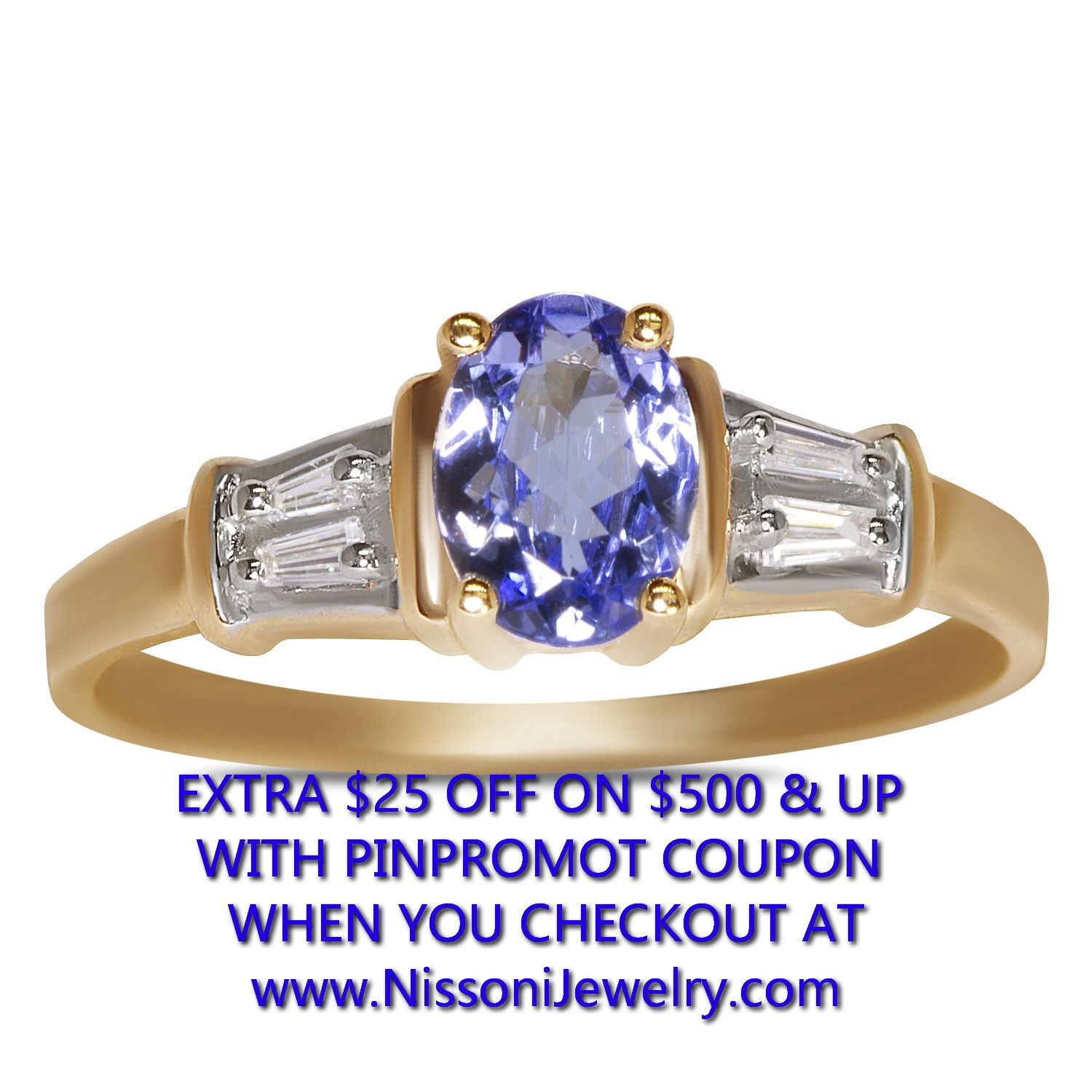 in tanzanite ring presents with yellow com gold diamond pin price nissonijewelry