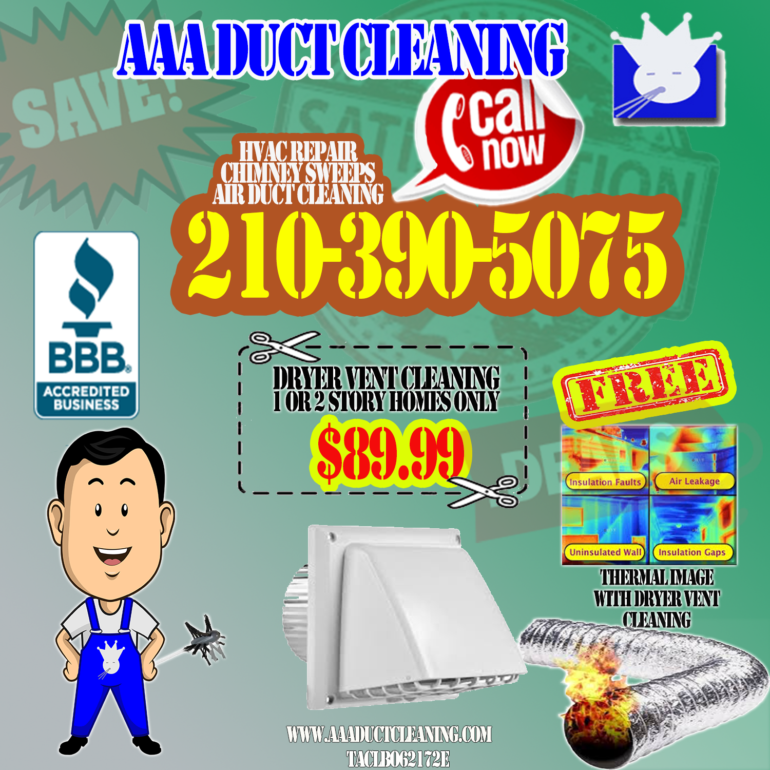 More Info Dryer vent cleaning