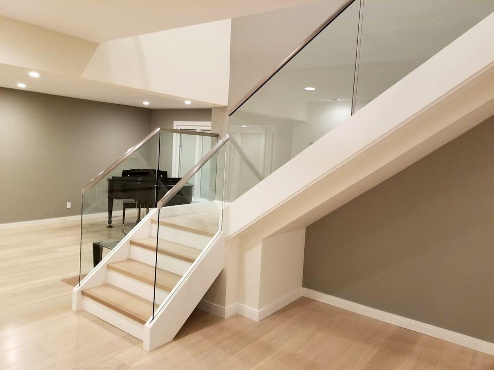 49 Perfect Glass Staircase Design Ideas Tangga Kayu Tangga Kayu