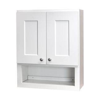 White Bathroom Wall Cabinets | White Bathroom Wall  Cabinetswhite Shaker Bathroom