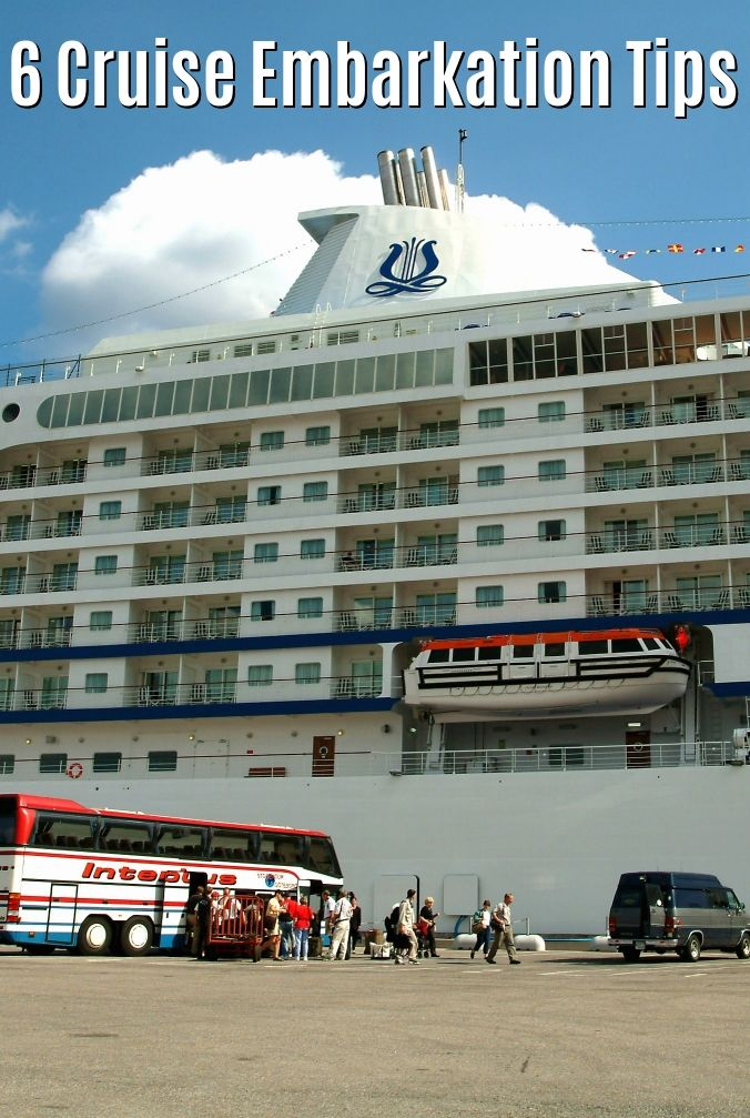 6 cruise embarkation tips that streamline your long awaited travel