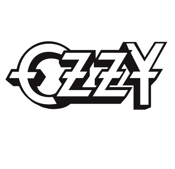 Ozzy Osbourne Text Title Logo For Musician People