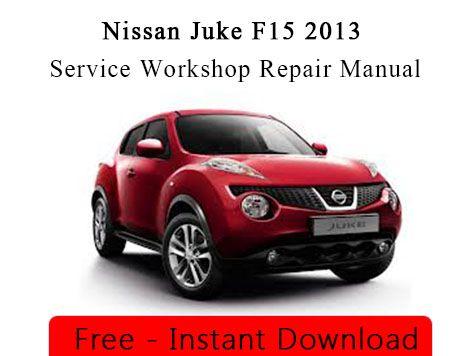 nissan juke service manual download