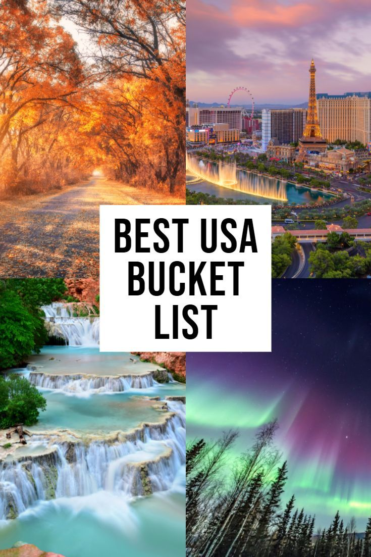 USA Bucket List: Things You MUST Do In The States