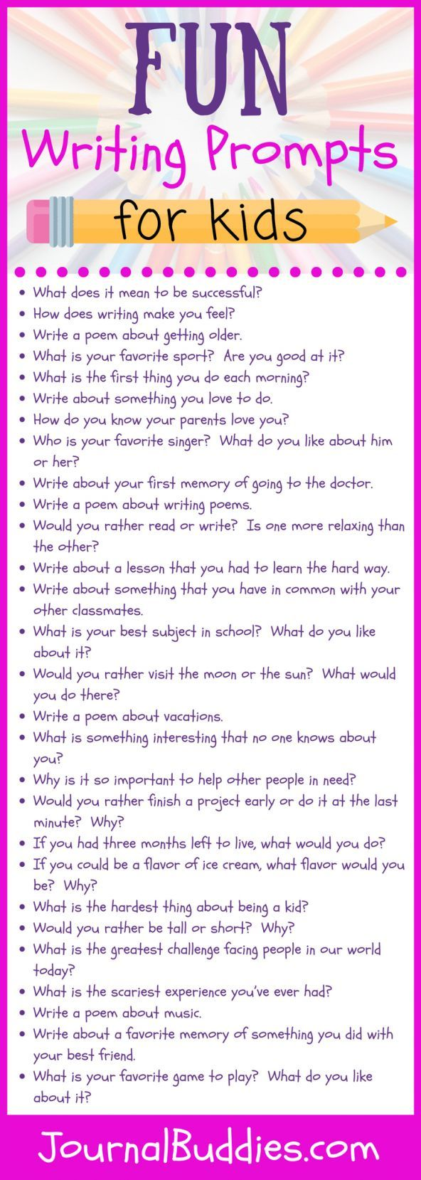 humorous writing prompts