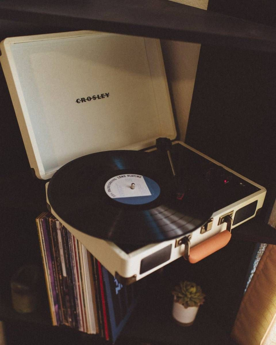 Music In High Fidelity Vinyl Record Player Record Player Turntable