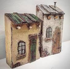 bildergebnis f r driftwood art houses weihnachten holz. Black Bedroom Furniture Sets. Home Design Ideas