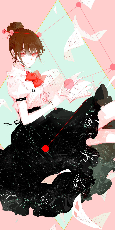 Libra Zodiac Anime Kawaii Girl Libra Anime Zodiac Anime Anime Style