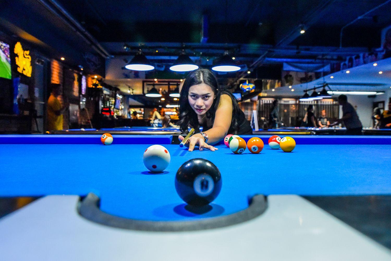 baize billiard billiards break cue cue ball frame pocket