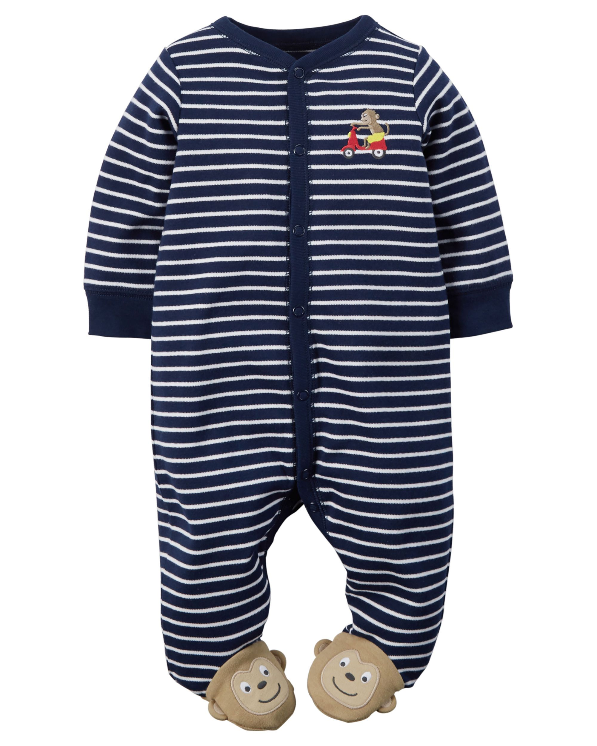 64465e260 Baby Boy Cotton Snap-Up Sleep   Play