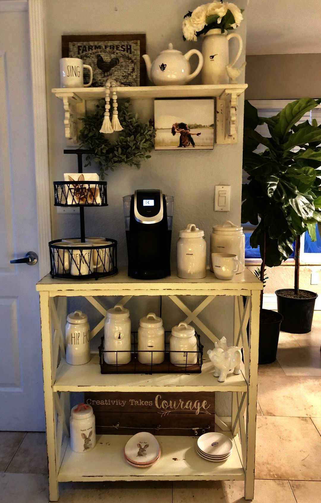 Coffee Near Me Takeaway Whenever Coffee Machine And Espresso Once Coffee N Clothes Their Coffee Shop So Coffee Bar Home Diy Coffee Station Home Coffee Stations