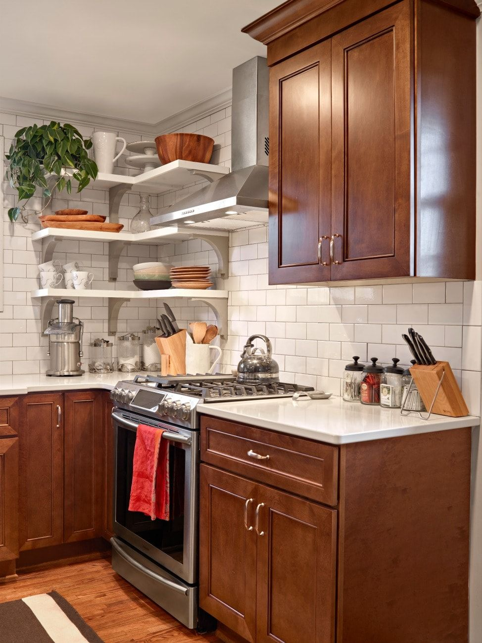 Delray Chestnut (With images) | Assembled kitchen cabinets ...