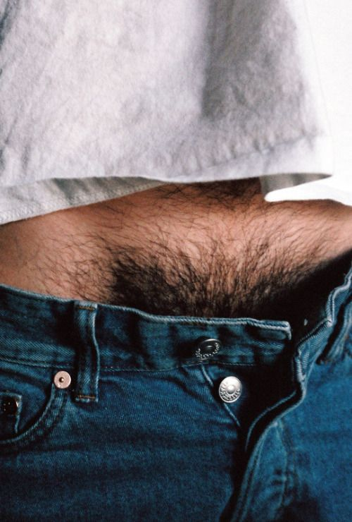 Hairy men with thick pubes