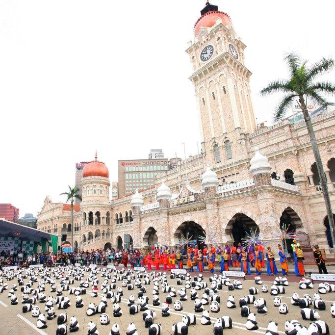 Launching Welcome The Arrival of 1600 Pandas MY#DataranMerdeka#FasterAdvertisingGroup