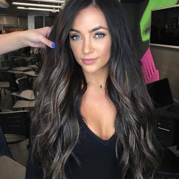 Black wavy wig | Hair color for black hair, Hair color ...