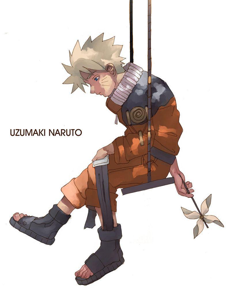 Naruto Alone by tagailog   Sad, Little Orphan Naruto   Naruto