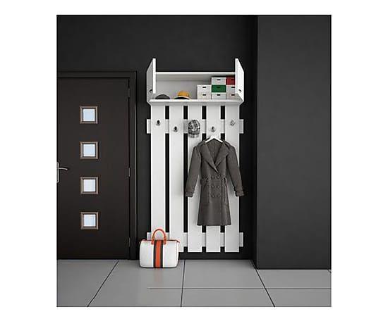 Ingressi Mobili ~ Mobile ingresso in melamina yonca bianco 96x210x31 cm mobili e