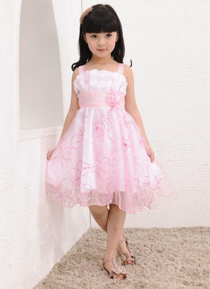 vestidos casuales | vestidos casuales 2014 para niñas 2 | Pequeñas ...