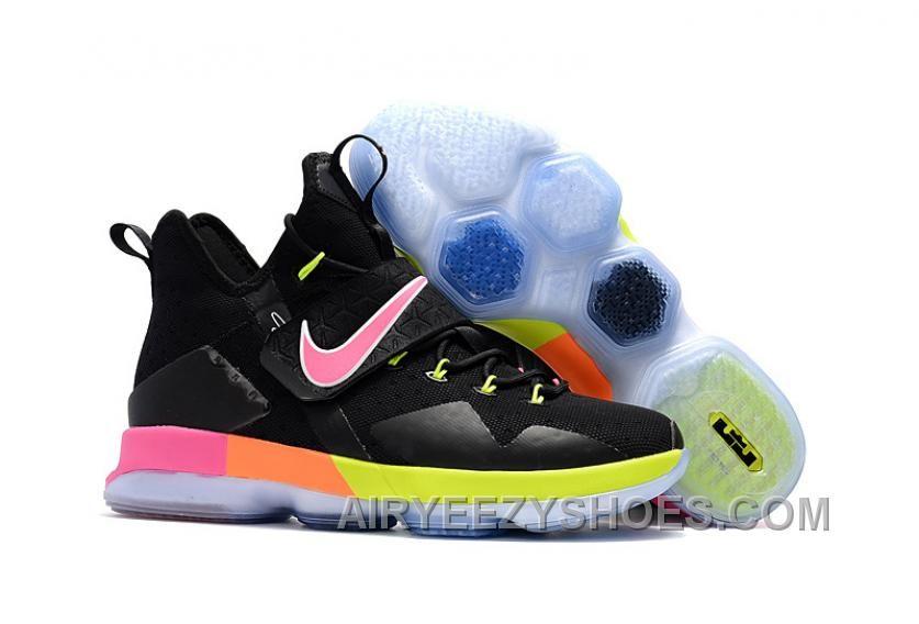 Nike Lebron 14 Black White Multicolor TopDeals