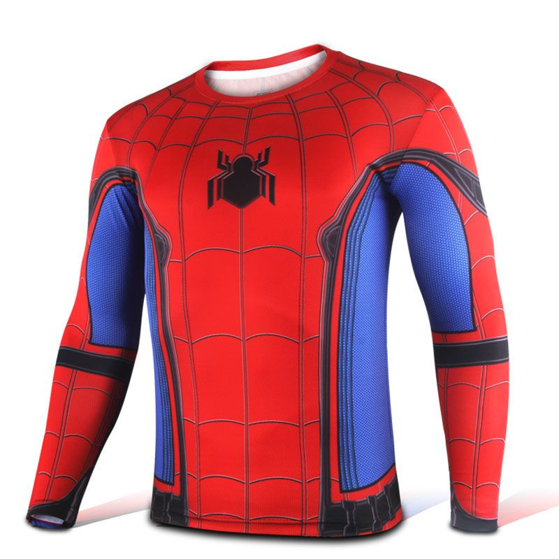 694aa4d8 The unique Sports Jersey Long Sleeve Spider-man Homecoming Suit Costume -  #amazingspidermanmerchandise #spiderman2099merch #spiderman2099merchandise  ...