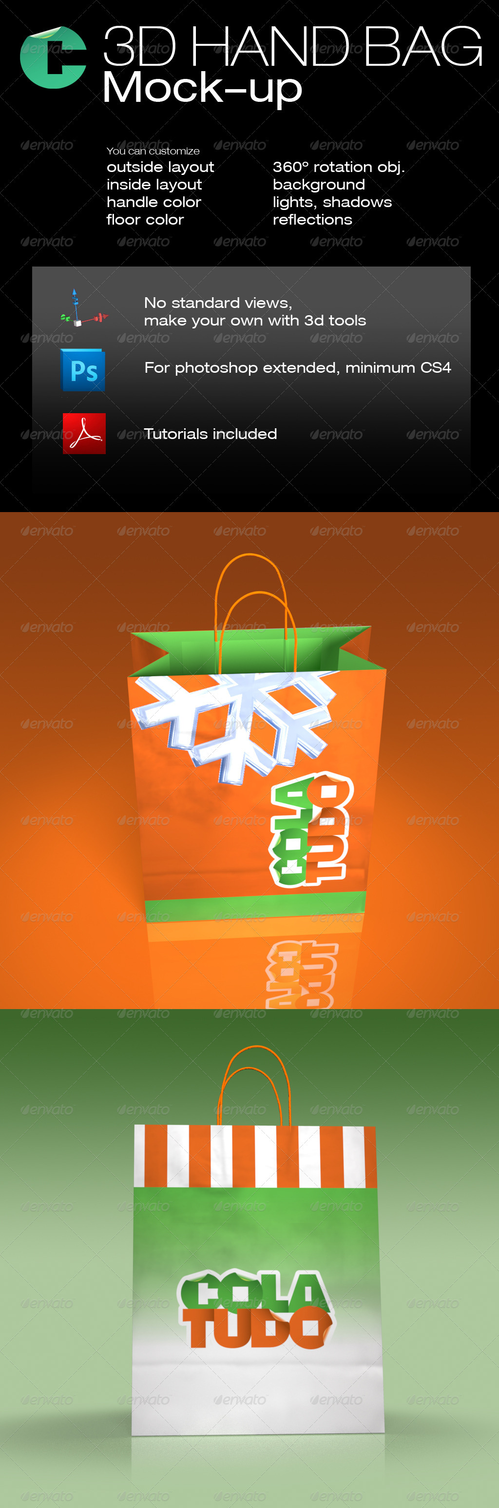 3d object 03 shopping bag mock up graphicriver this product is 3d object 03 shopping bag mock up graphicriver this product is compatible with adobe photoshop cs4 extended and cs5 extended with th pinteres baditri Images