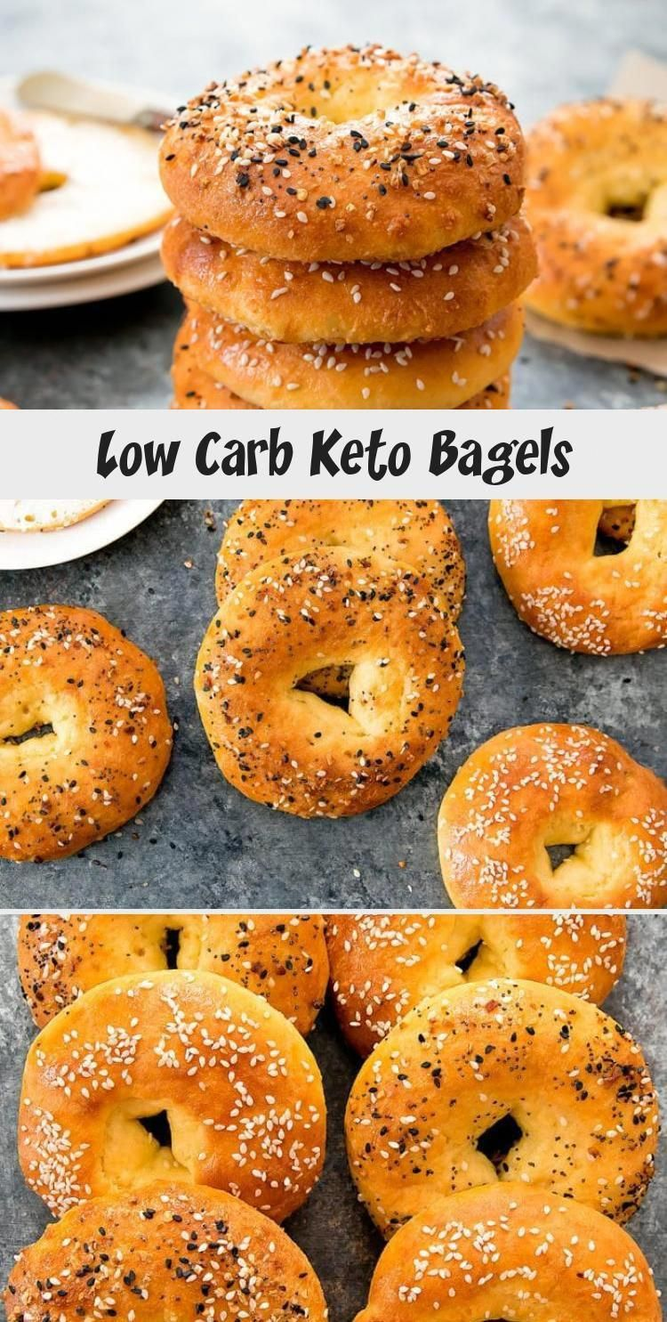 Low Carb Keto Bagels. These bagels are just 5 ingredients
