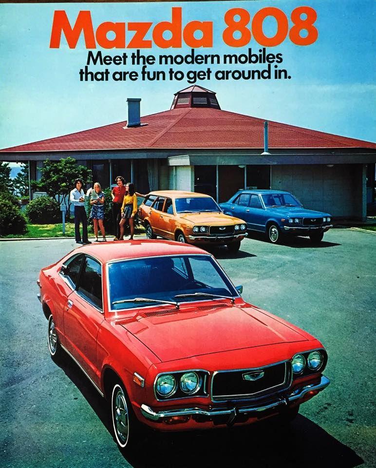 Daihatsu Car Wallpaper: 1971 RX-3 (Savanna) S102 (Earlier)