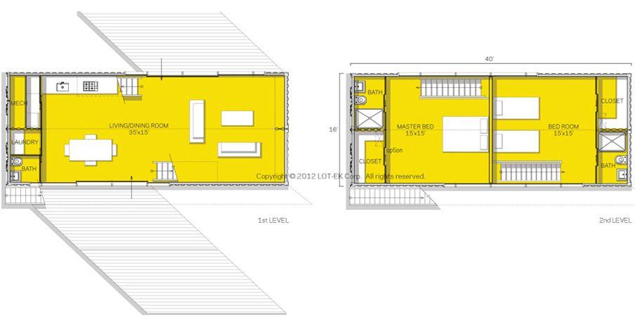 c-Home 4x40 - c-Home: Sustainable Prefab